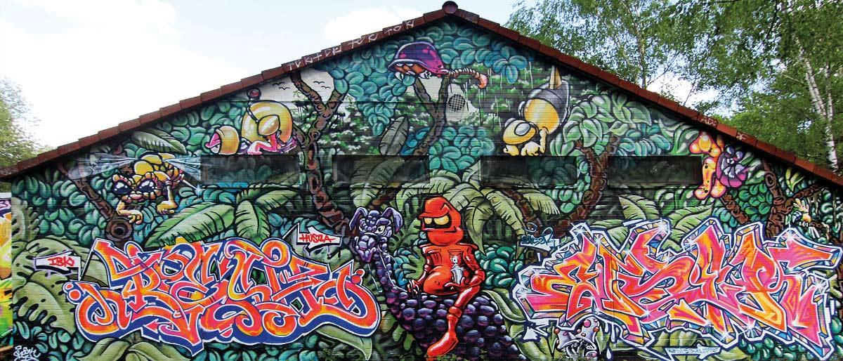 Permalink auf:Graffiti Hamburg